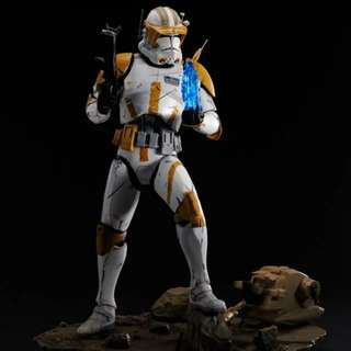 Star Wars Ep III ♚ Commander Cody Light Up ARTFX [Statue] by Kotobukiya ♚ 1/7th Scale__Hot Toys_Sideshow Collectibles