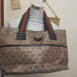 Inspired tote bag medium