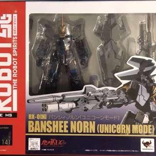 全新Bandai Robot魂R-141 Unicorn Gundam 高達 獨角獸女妖Banshee Norn (Unicorn Mode)