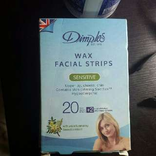 Dimples Wax Facial Strips