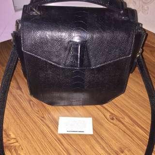 Alexander Wang Croco Sling Bag