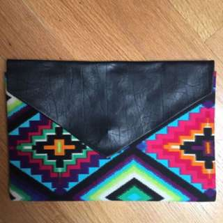 Aztec Preciously Mine envelope clutch