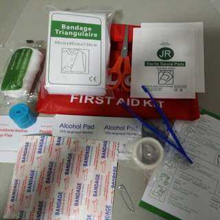 BNIB First Aids Kit selling only sgd 10!