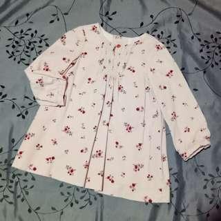 Zara baby corduroy dress