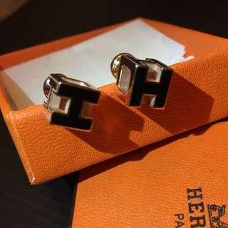 Hermes earrings Cage d. H