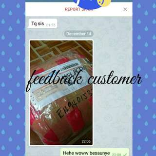 Customer feedback,☺