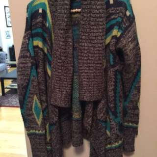 Roxy Aztec knit cardigan