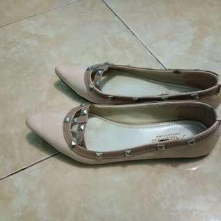 Flat shoes falentino