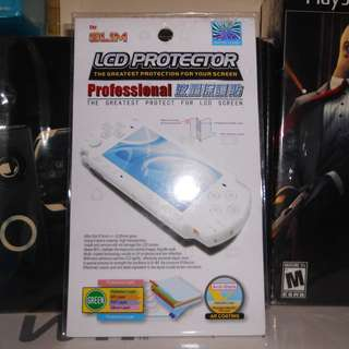 PlayStation Portable or PSP screen protector not PS1 PS2 PS3 Nintendo Xbox