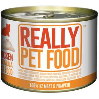 Really Pet Food Cat food chicken or beef 170g
