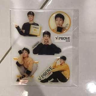 VProve Park Bogum Sticker