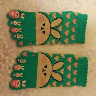 日本五趾襪