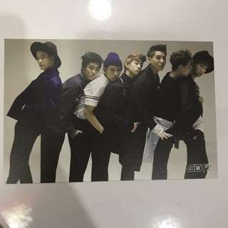 Got7 Postcard (Unofficial)