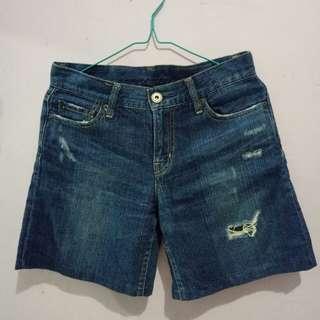 Hotpants blue jeans