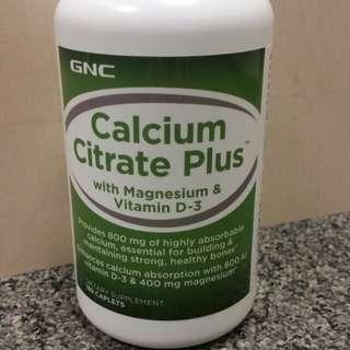 GNC鈣片