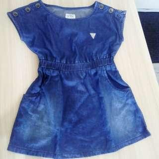 Baby Guess Denim Dress