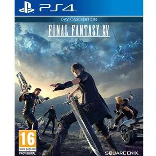 *Good Condition* Final Fantasy XV PS4