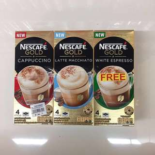 Nestle Coffee with 3 flavors 1 Set 泰國咖啡粉 made in Thailand