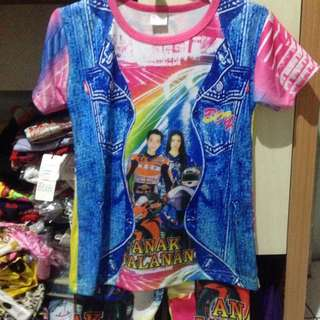 Baju musiman anak 6th
