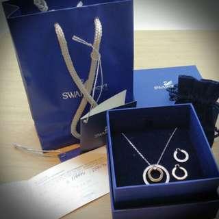 Swarovski transformable necklace 施華洛世奇項鏈