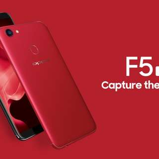 Oppo F5 Red 6GB ram Selfie superKing