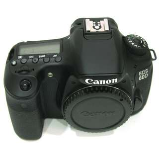 Cheapest in Carousell! Canon 60D body with third party high capacity battery.