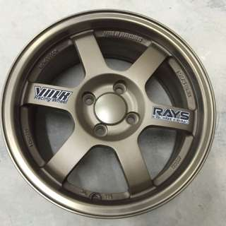 Offer Sport rim baru 15 inci volk racing te37