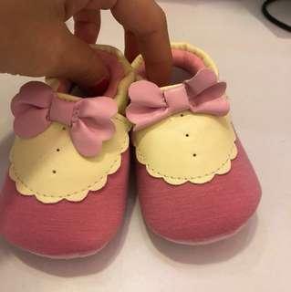 好評特價*時尚嬰兒氣質蝴蝶結學步鞋11.5-13.5cm
