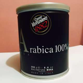 意大利咖啡 Arabica 100% Moka made in Italy 250g