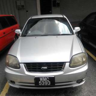 2004 Hyundai Accent 1.5cc Manual