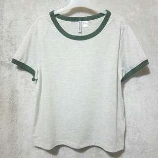 h&m ringer shirt