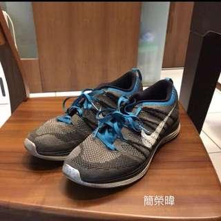 Nike flyknit1 余文樂著用 慢跑鞋