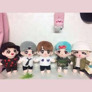 BTS MicDrop Doll