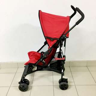 Halford Solo Stroller (Red)