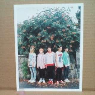 SEVENTEEN BOYS BE POSTCARD
