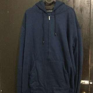 Jaket hoodie zipper, uk.XXXL