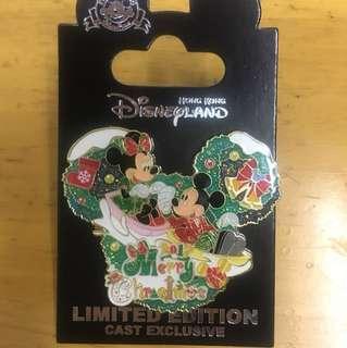 迪士尼聖誕節章pin