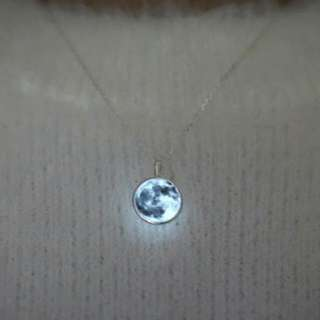 REPRICED! Moon Necklace (Glow in the dark)