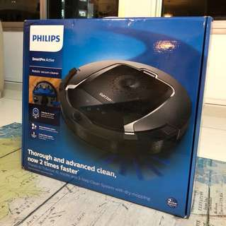 Philips SmartPro Active Robotic Vacuum Cleaner (FC8822)
