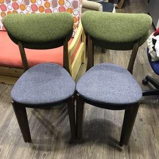 (極新)日式餐椅2張