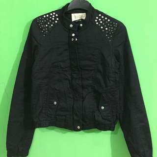 Bershka jaket black
