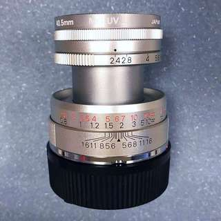 Konica M-Hexanon 50mm f2.4 for Leica (limited)