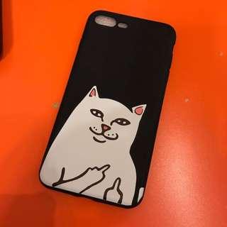 Cat iPhone 7+ 8+ soft case