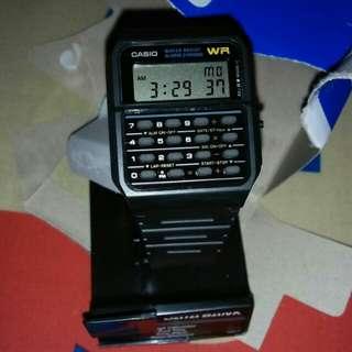 Casio CA 53 W Calculator Data Bank