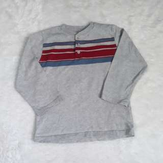 (5T) Faded Glory gray top