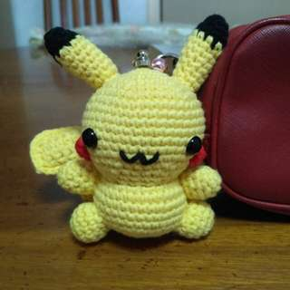 Pikachu crochet doll