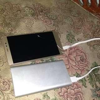 Xiaomi redmi note 3 + PowerBank 10.000 mAh