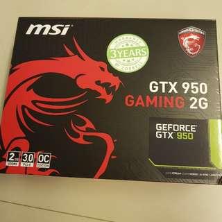 MSI Gtx 950 2gb graphic card