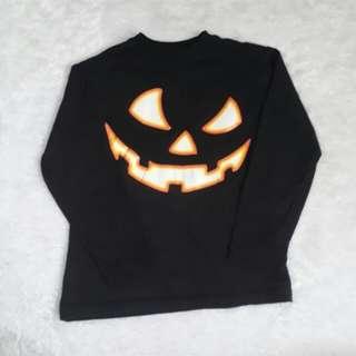 (4-5T) pumpkin halloween top