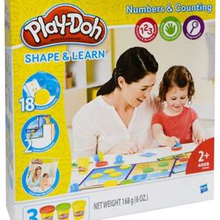 Playdoh Shape And Learn